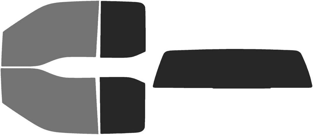 Automotive Window Film Precut Window Tint Kit Fits: 2017-2020 Ford F-250 F-350 Super Duty SuperCab Truck Includes: Front Windshield Visor precut in 15/%