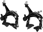 Road Bicycle Calipers, Wear-Resistant Road Bicycle Pull Brake Set for Road Bikes with Mechanical Brake