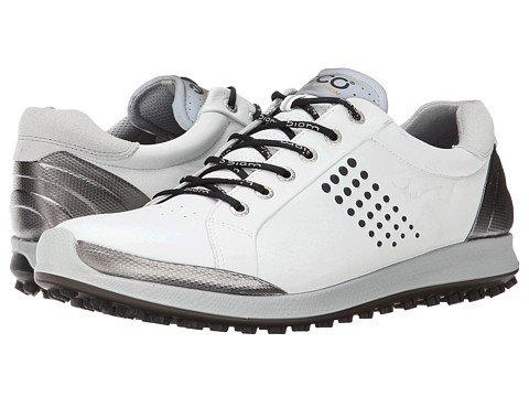 (エコー) ECCO メンズゴルフシューズ靴 BIOM Hybrid 2 [並行輸入品] B06ZYC7G69 43 (US Men's 9-9.5) (n/a) D - M ブラック/ホワイト