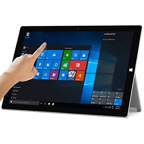 Microsoft Surface Pro 3 (256 GB, Intel Core i5)(Windows 10 Professional 64 bit) (Renewed) (Tablet Cover 3 Galaxy)