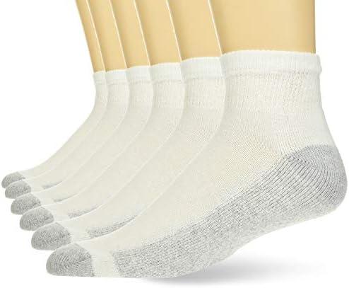 Hanes Men's Cushion Ankle Socks, 6-Pack