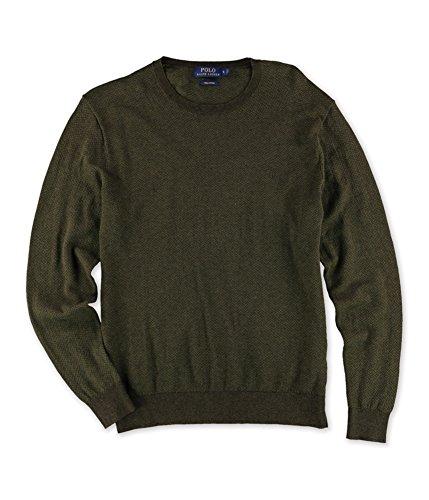 Polo Ralph Lauren Mens Big & Tall Cotton Crew Neck Sweater Green L