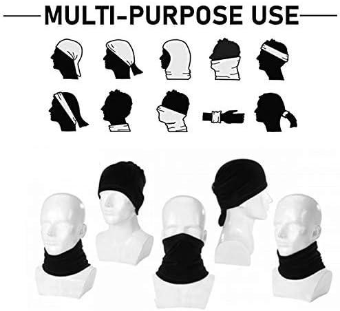KW-Wosn Multifunktionstuch Bandanas Halstuch Kopftuch Sport Stirnband Winddicht Schlauchtuch Kopftuch Hockey-Logo-Toronto-Maple-Leafs
