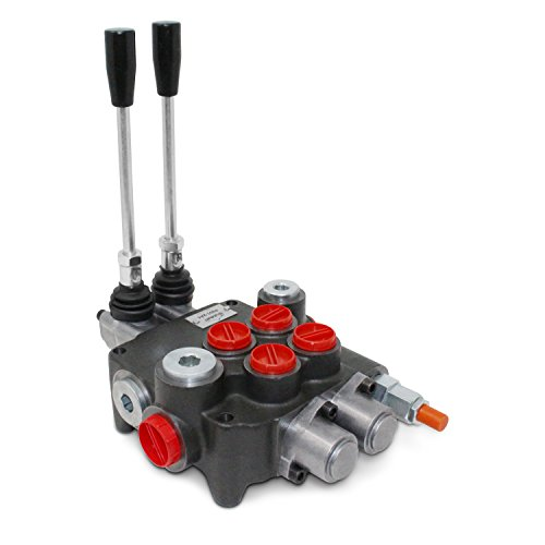 Hydraulic Control Pump (Monoblock Hydraulic Directional Control Valve, 2 Spool, 21 GPM, SAE Ports)