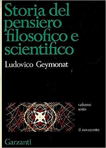 Amazon.it: STORIA DEL PENSIERO FILOSOFICO E SCIENTIFICO