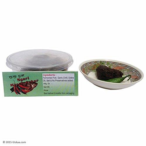 GISKAA Ngari Morok Pickle (Fermented Fish and Chilli Pickle) - 250 g - (Non-Veg)