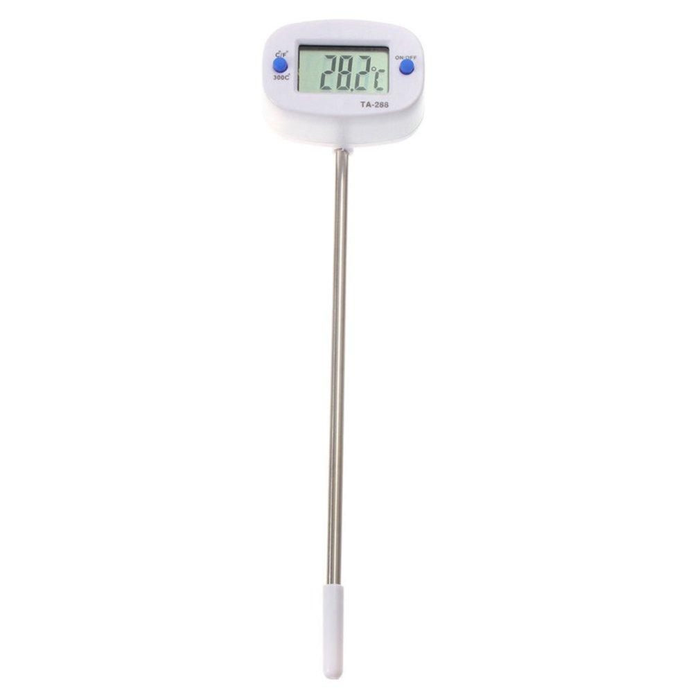 Compra Gosear KT300 LCD Termómetro de Acero Inoxidable Digital Carne Leche Agua Alimentos Sonda/Probador de Instrumento de Medición de Temperatura para ...