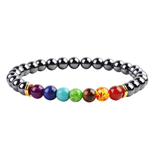 Natural Amethyst Healing Gemstone Bracelet