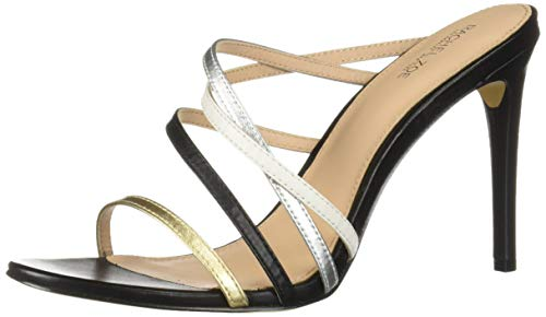 Rachel Zoe Women's Hailey Heeled Sandal Black/Multi 10 M US