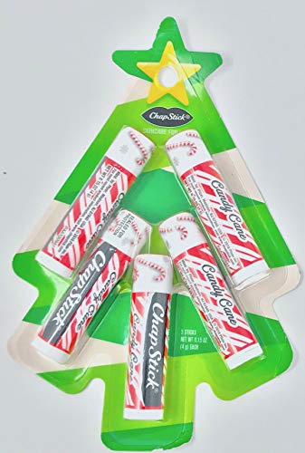 New ChapStick Candy Cane Christmas Limited Edition Perfect Christmas Stocking Fillers (Xmas Tree)