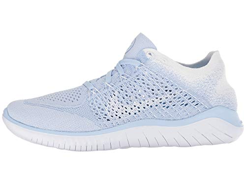 Blue Free Multicolore RN Femme Sneakers Basses Flyknit 402 NIKE Hydrogen White 2018 White WMNS Hwq4vnA5