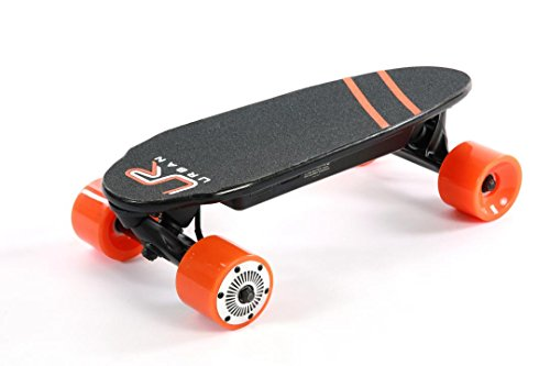 Urban - Portable Mini Electric Skateboard Skateboard with Wireless Remote 17 Inch 12 MPH 7 Mile Range