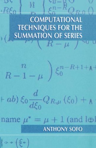 Download Computational Techniques for the Summation of Series Pdf