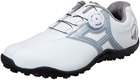HONMA ゴルフ シューズ SR-1604 25cm ホワイト シルバー