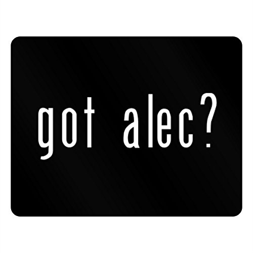 Teeburon Got Alec? Horizontal Sign (Black Acrylic Alec)