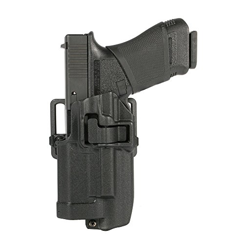 Blackhawk Serpa CQC Holster, Light Bearing for Xiphos NTX, Size:00 - Glock 17/22/31, Left