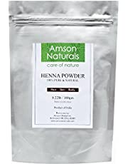 Henna Natural Powder 100 gm (Mehndi) - 100% Pure & Natural-by Amson Naturals-Conditions,Strengthens,Revitalizes Dry & Dull Hair.