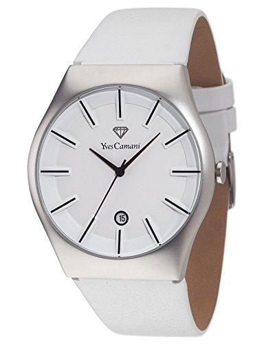 Vorschaubild Yves Camani Herren-Armbanduhr Silber/Weiß