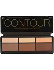 BYS Contour Palette (3x Contouring Powder, 3x Highlighting...