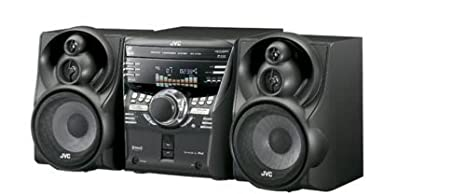 JVC MXKC58 3-CD Changer Mini Audio System with Sound Turbo (Discontinued by Manufacturer