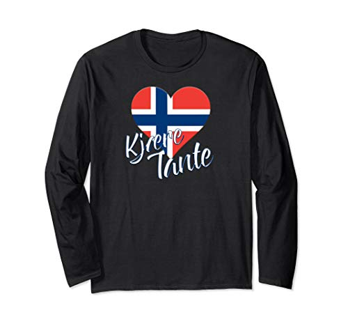 Dear Aunt (Kjaere Tante) Norwegian Lng Slv T-shirt