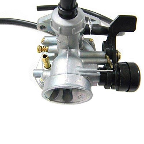 Savior PZ19 19mm Carburetor with Cable Choke for 50cc 70cc 90cc 110cc 125cc ATV Quad Go-kart Dirt Bike Carb Taotao Sunl Roketa by Savior (Image #3)