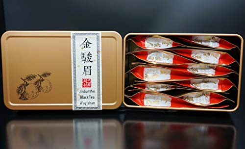 (JinJunMei Black Tea.Wuyi Rock Tea.Tea Box丨Wuyishan Tongmuguan Place Of Origin.金骏眉红茶丨Jin Jun Mei Black Tea)