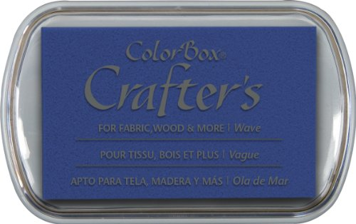 ColorBox Crafter's Full Size Inkpad, Wave by CLEARSNAP