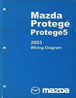 2003 mazda protege and protege5 wiring diagram manual original 2002 Mazda Protege PCM Wiring Harness