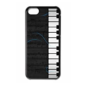 XiFu*Meiiphone 5/5s Case,Piano Hard Shell Back Case for Black iphone 5/5s Okaycosama372253XiFu*Mei