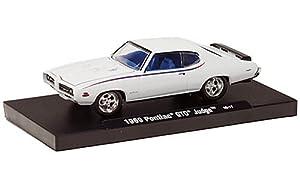Pontiac GTO Judge, white, 1969, Model Car, Ready-made, M2 Machines 1:64 by Pontiac