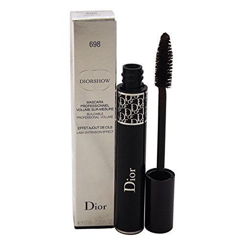 Christian Dior Diorshow Lash Extension Effect Volume Mascara for Women, 698/Pro Brown, 0.33 - Dior Lady Brown