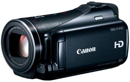 Canon デジタルビデオカメラ iVIS HF M43 IVISHFM43 光学10倍 光学式手ブレ補正 内蔵メモリー64GBの商品画像
