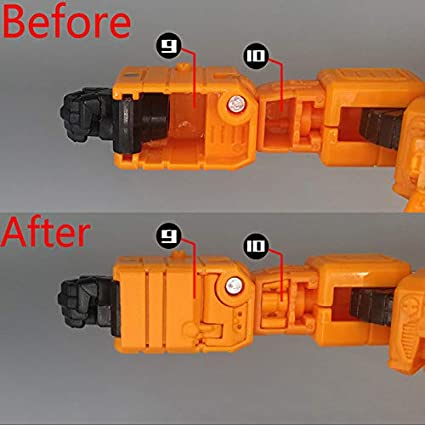 TRANSFORMERS 3D DIY replenish KIT FOR Siege earthrise Grapple set Special Offer