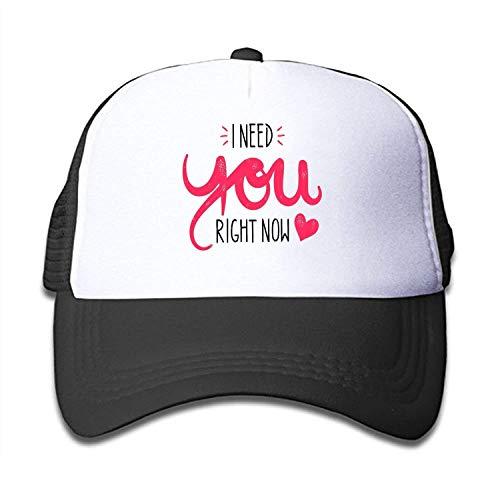 - QKBUY Boys and Girls I Need You Youth Toddler Mesh Hats Baseball Trucker Cap