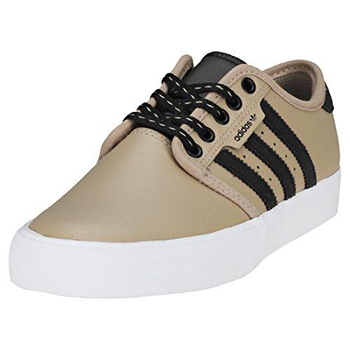 adidas Seeley J, Zapatillas de Skateboarding Unisex Adulto Multicolor (Caqtra/Negbás/Ftwbla 000)