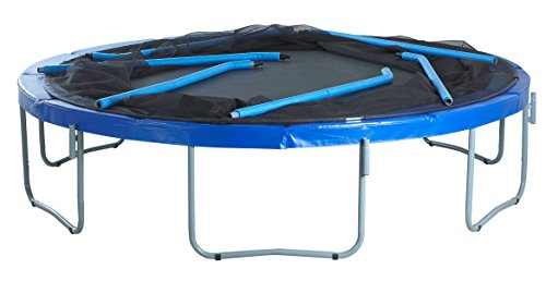 SKYTRIC Trampoline with Top Ring Enclosure System Equipped with The Easy Assemble Feature, 15-Feet by SKYTRIC (Image #5)