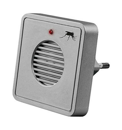 Gardigo Mückenabwehr-Stecker im Design für Steckdosen silbergrau