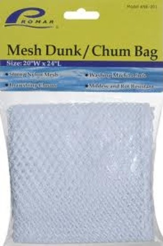 Promar NE-302 Mesh Dunk/Chum Bag, 1/4-Inch Mesh, 24-Inches by 30-Inches