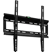 "Yes4All Tilt TV Wall Mount Bracket for 17 - 47"" PLASMA, LCD, LED, OLED TVs – Fits 12"" and 16"" Stud Space – Bonus 10 ft HDMI Cable and 50 Zip Ties"