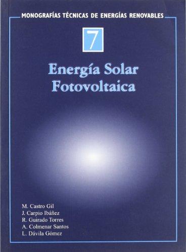 Descargar Libro Energia Solar Fotovoltaica Aa.vv.