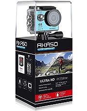اكاسو اكشن كاميرات 4K وضوح, غير متاحة زووم بصري وشاشة 2 انش مقاس كاميرا - EK7000