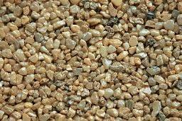 Light Yellow Natural S1448 Colored Quartz Gravel Pebbles 3 lbs