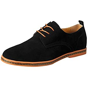 iLoveSIA Men's Leather Suede Oxfords Shoe(Clearance)
