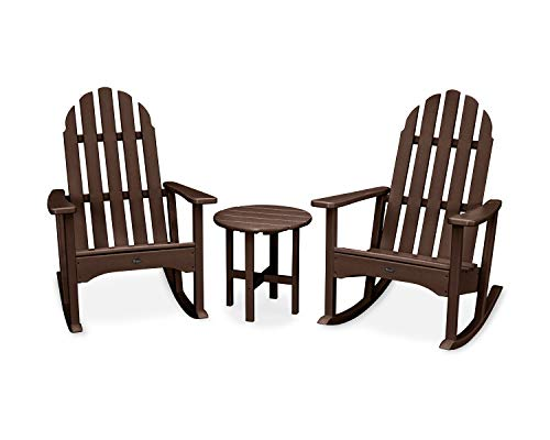 Trex Outdoor Furniture Cape Cod Adirondack Seating Set, Vintage - Cod Lantern Patio Cape