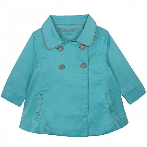 Bleu 12 ans Chateau de sable - Manteau - Trench Coat - Fille