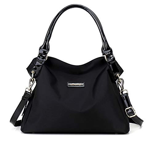 Nylon Hobo Handbags - 7