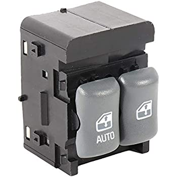 Replaces GM 10404698, 22652690, 19142568, 22639029, 19207825 APDTY 012135 Front Master Power Window Switch Fits 1997-2003 Pontiac Grand Prix 2 Door Coupe 1995-2005 Pontiac Sunfire 2 Door Coupe 1998-2001 Pontiac Grand Prix GTP 2 Door Coupe