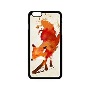 The Stylish Designs Art Handsome Fox Iphone 6 4.7 Case Cover Shell (Laser Technology)