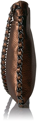 Chocolate Kestenberg Aimee Mini Cyrus Metallic Crossbody S1wOO